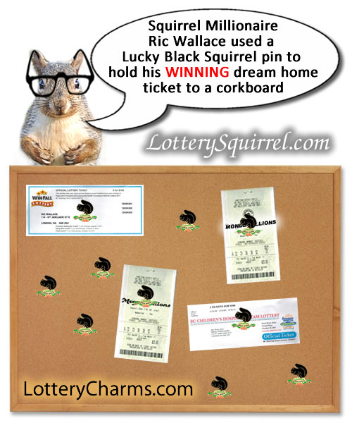 Order your own Lottery Charm today